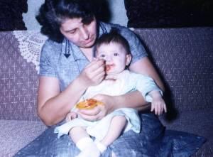Mom & Becky as Baby Feeding - Copy