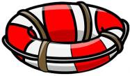 Life Preserver Cartoon Free Use