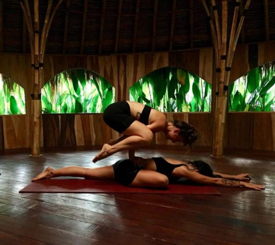yoga poses for two people