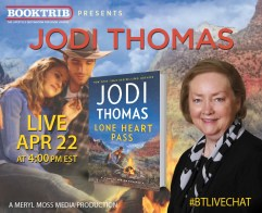 Live Interview with Jodi Thomas and Lone Heart Pass – Author ___