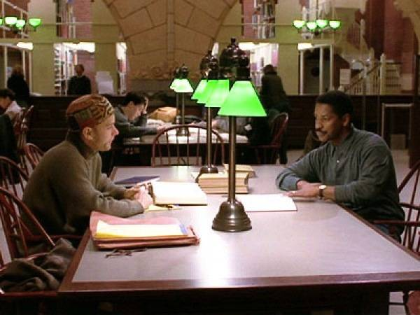 philadelphia movie library scene