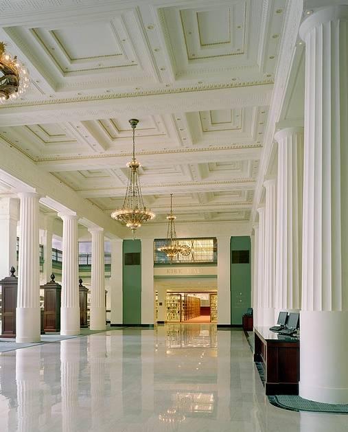 KC library Kirk Hall