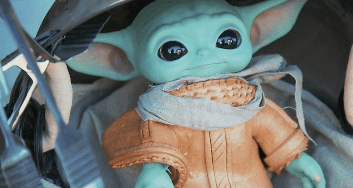 You'll Want To Ohh and Ahh Over Baby Yoda Made of Bread