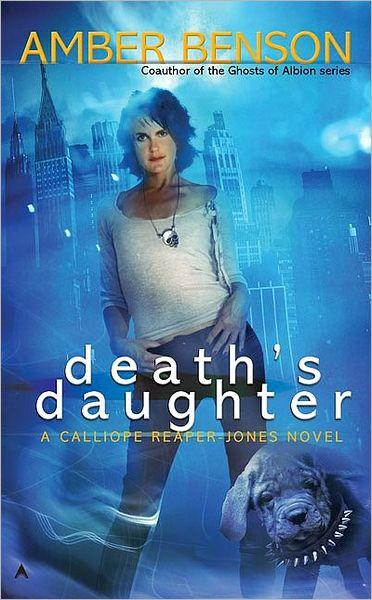 Death's Daughter by Amber Benson Cover