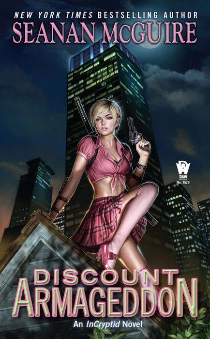 Discount Armageddon by Seanan Mcguire Cover