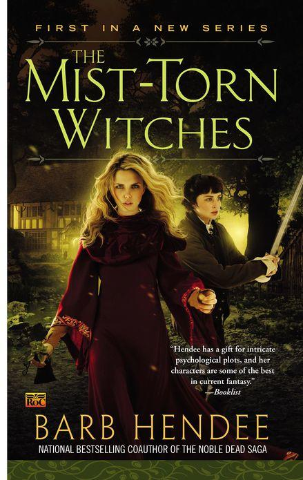 mist torn witches by Barb Hendee Cover