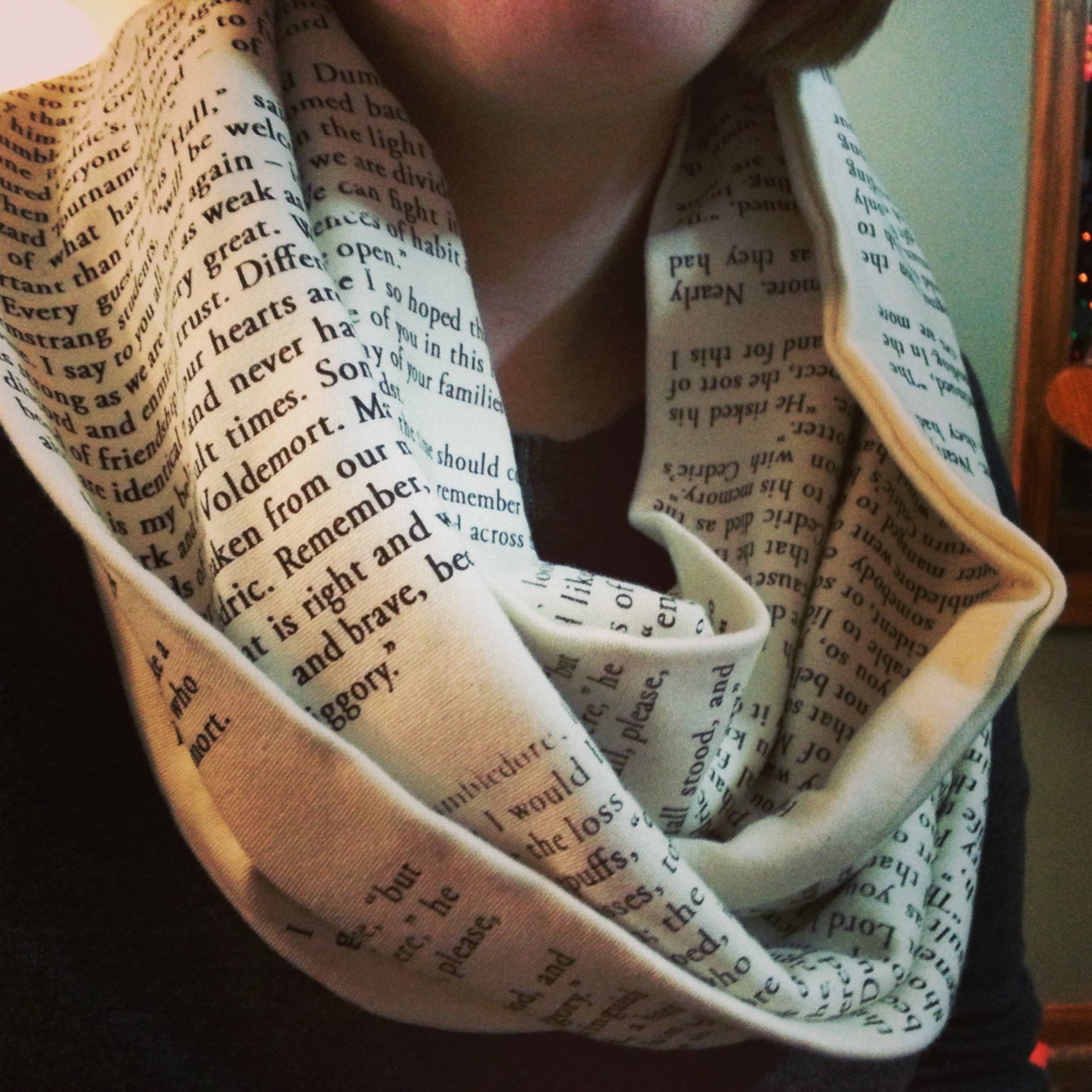 harry potter infinity scarf from storiarts