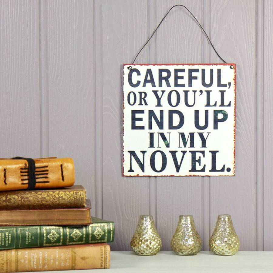 careful novel