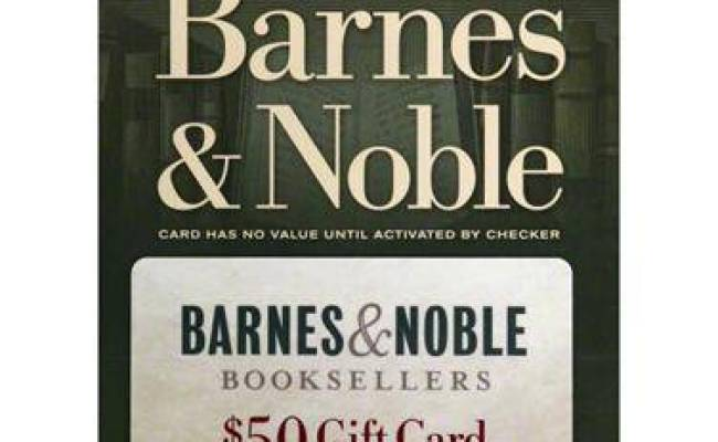 Giveaway 50 Barnes Noble Giftcard