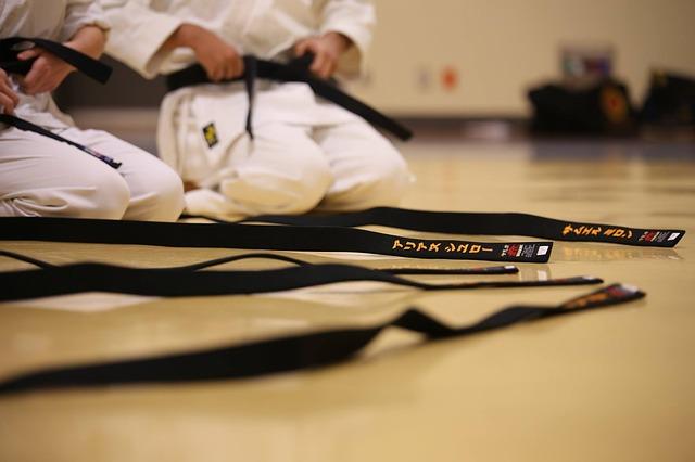 training karate world champion