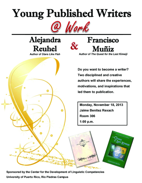 Flyer_Young Published Writers at Work