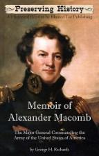 Memoir of Alexander Macomb-Front Cover