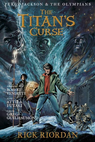 Percy Jackson and the Olympians, Book Four: The Battle of the ...
