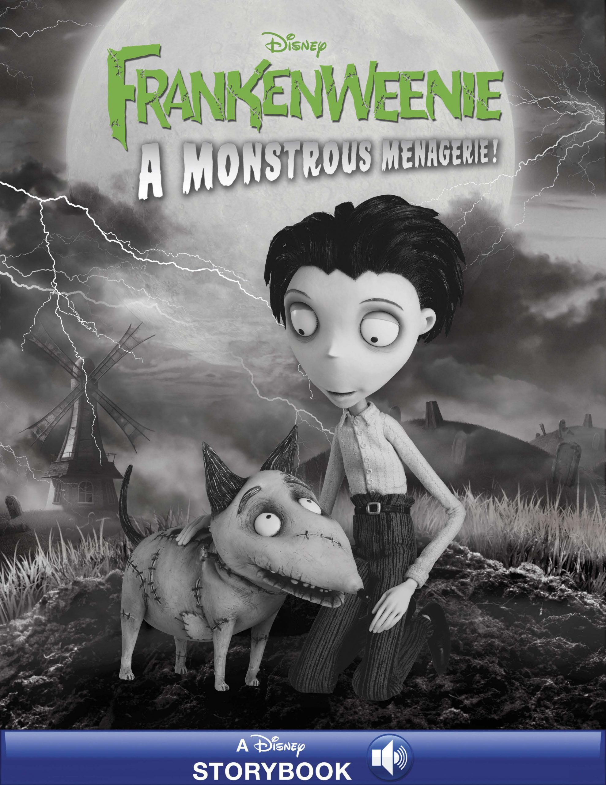 Frankenweenie A Monstrous Menagerie Disney Books Disney Publishing Worldwide