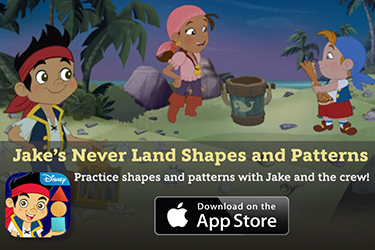 Jake's Never Land Shapes and Patterns