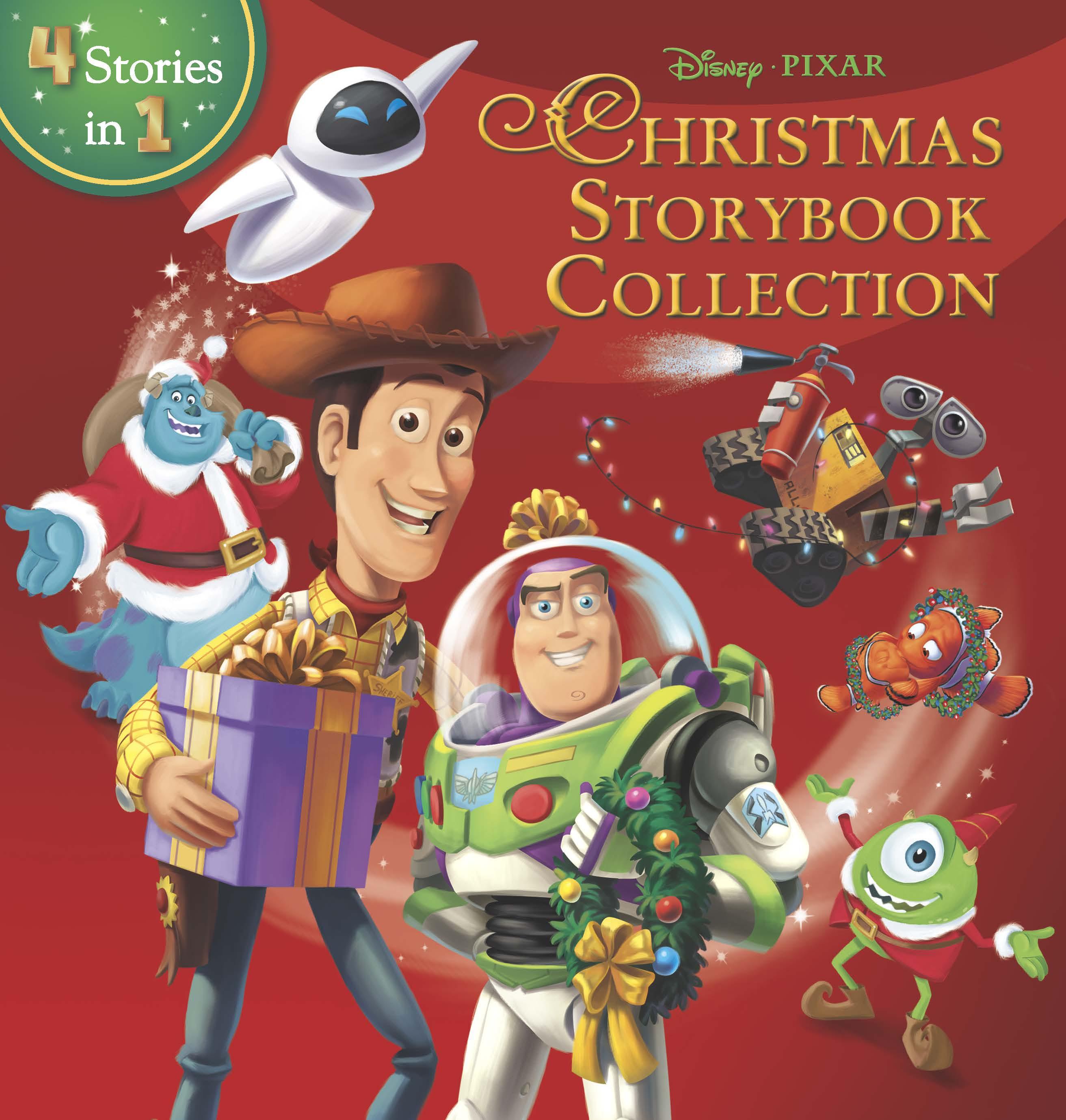 disneypixar christmas storybook collection - Disney Christmas Storybook Collection