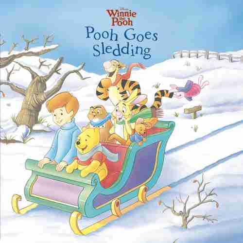 Winnie The Pooh Iphone Wallpaper Winnie The Pooh Pooh Goes Sledding Disney Books