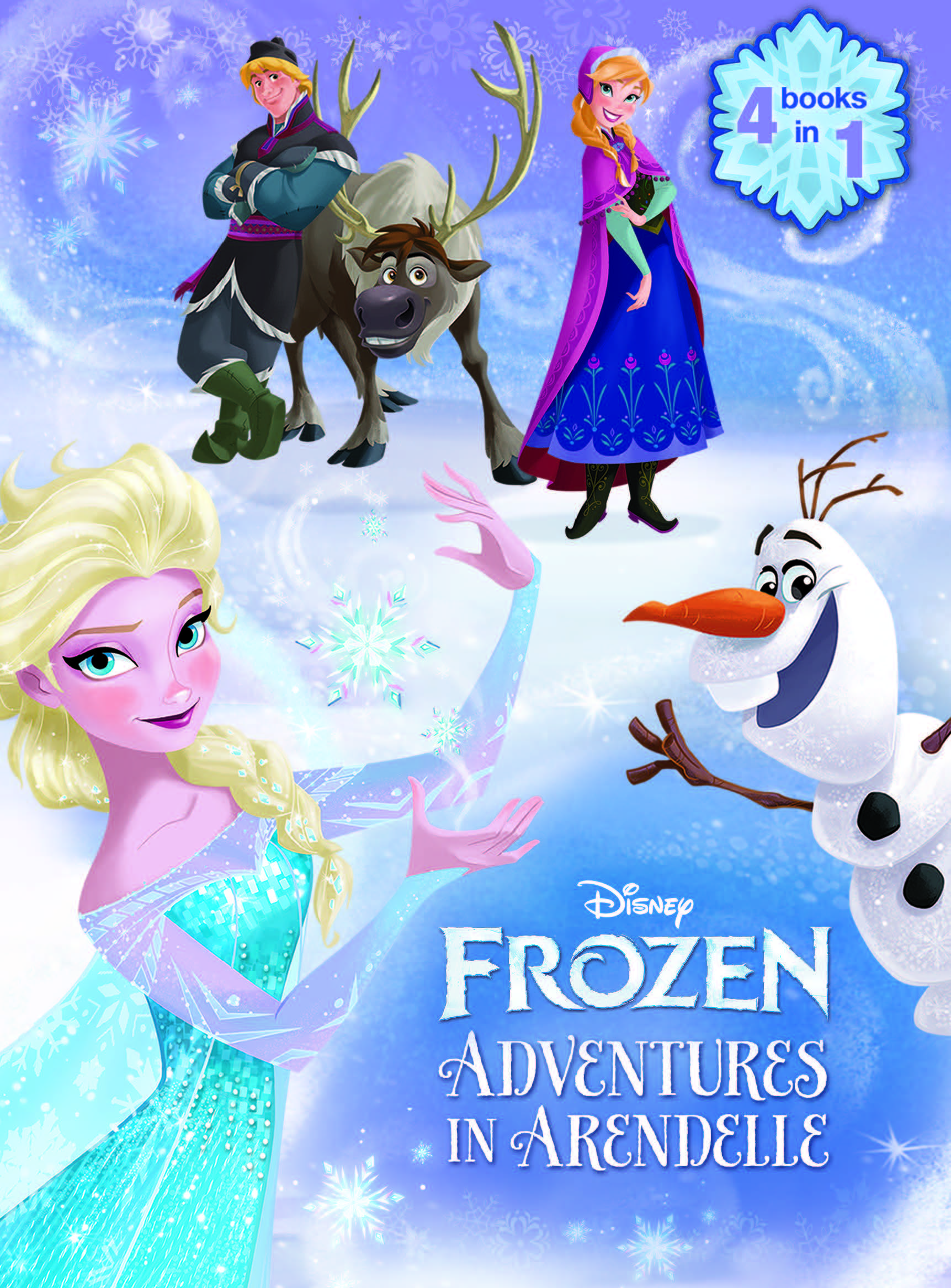 Frozen Book And Magnetic Play Set Disney Publishing border=