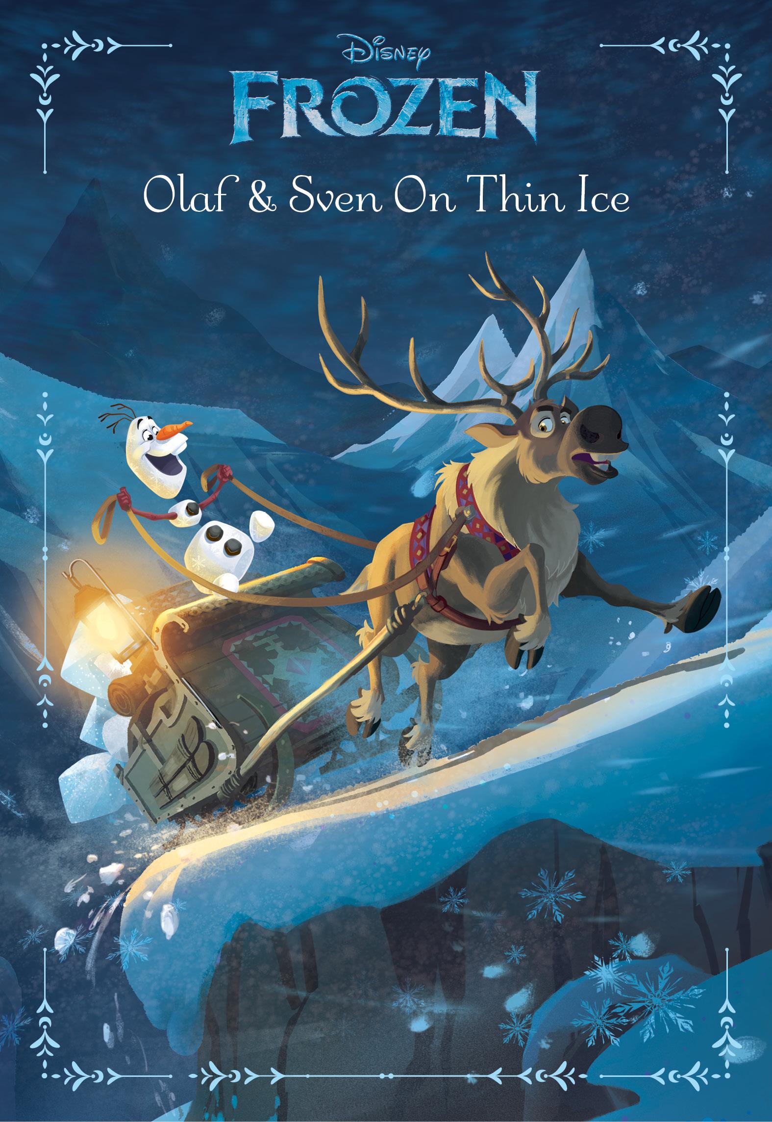 Olaf & Sven On Thin Ice | Disney Books | Disney Publishing Worldwide