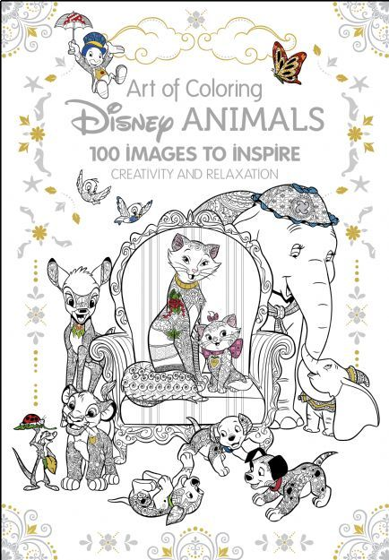 Art of Coloring: Disney Animals | Disney Books | Disney Publishing ...