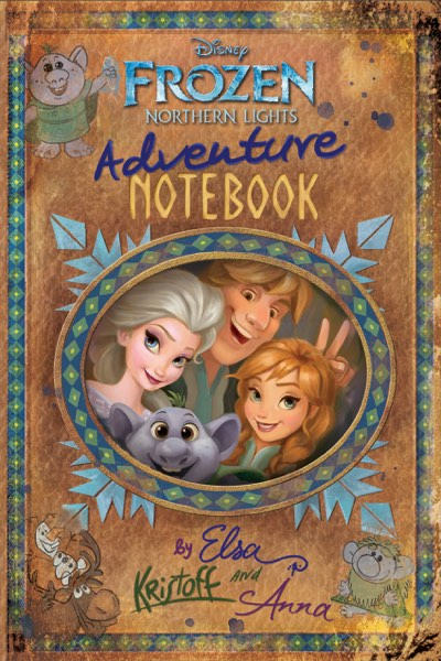 Frozen Adventure Notebook