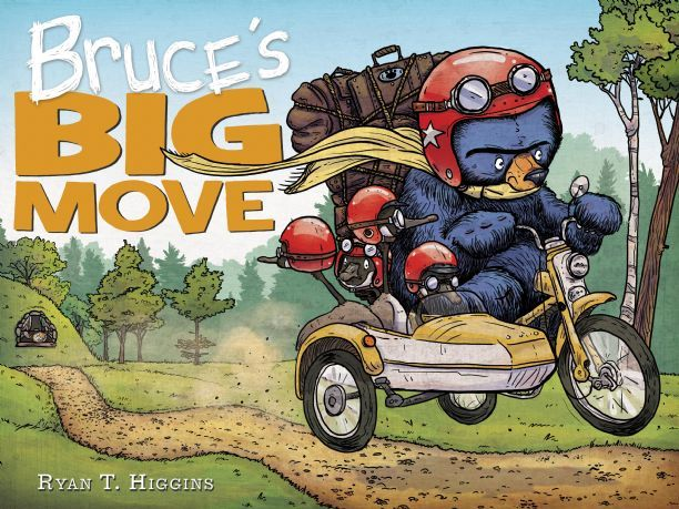 Book Trailer Alert! Bruce's Big Move!