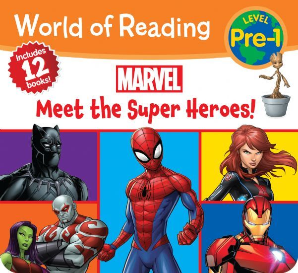 Marvel Meet the Super Heroes!