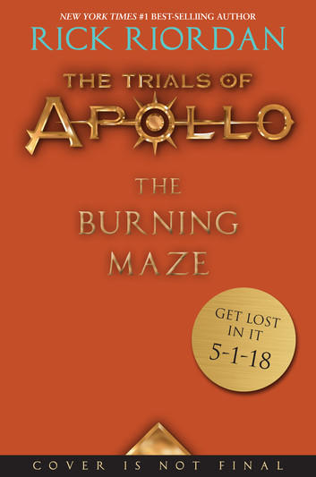 Apollo Alert! See The Cover For The Burning Maze Now!
