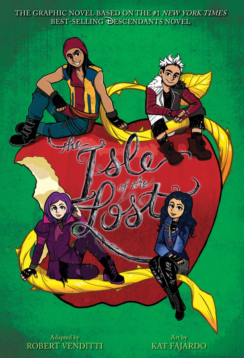 Isle of the Lost Graphic Novel Cover