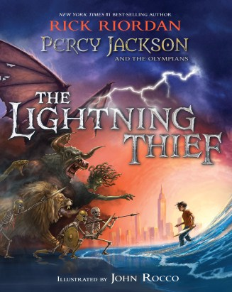 The Lightning Thief Illustrated