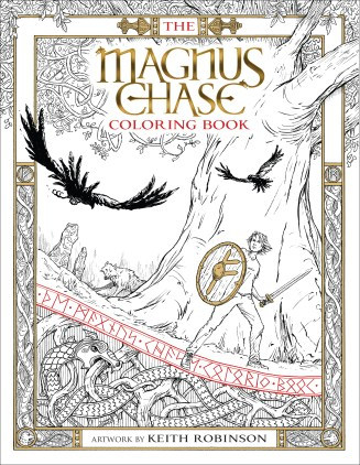 Magnus Chase Coloring Book