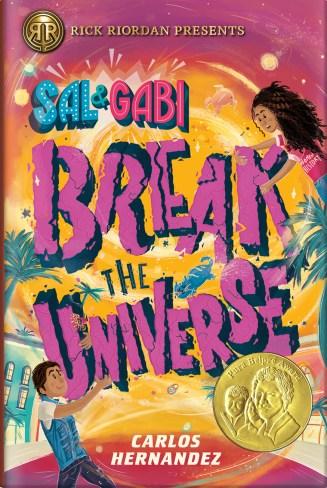 Sal & Gabi award medal