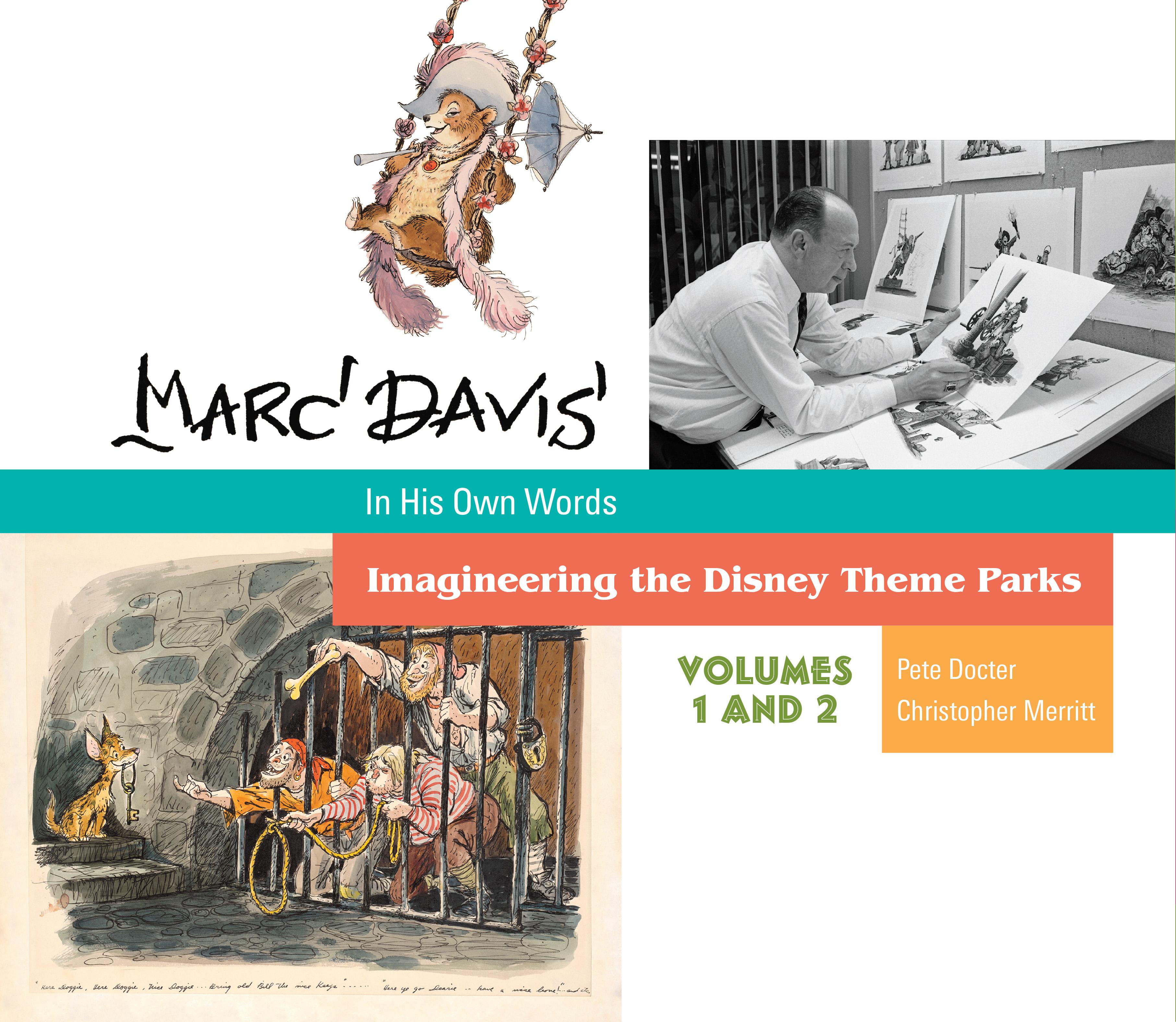 Marc Davis in His Own Words   Disney Books   Disney