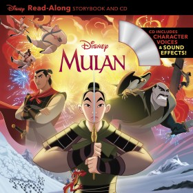 Mulan Read-Along Storybook and CD