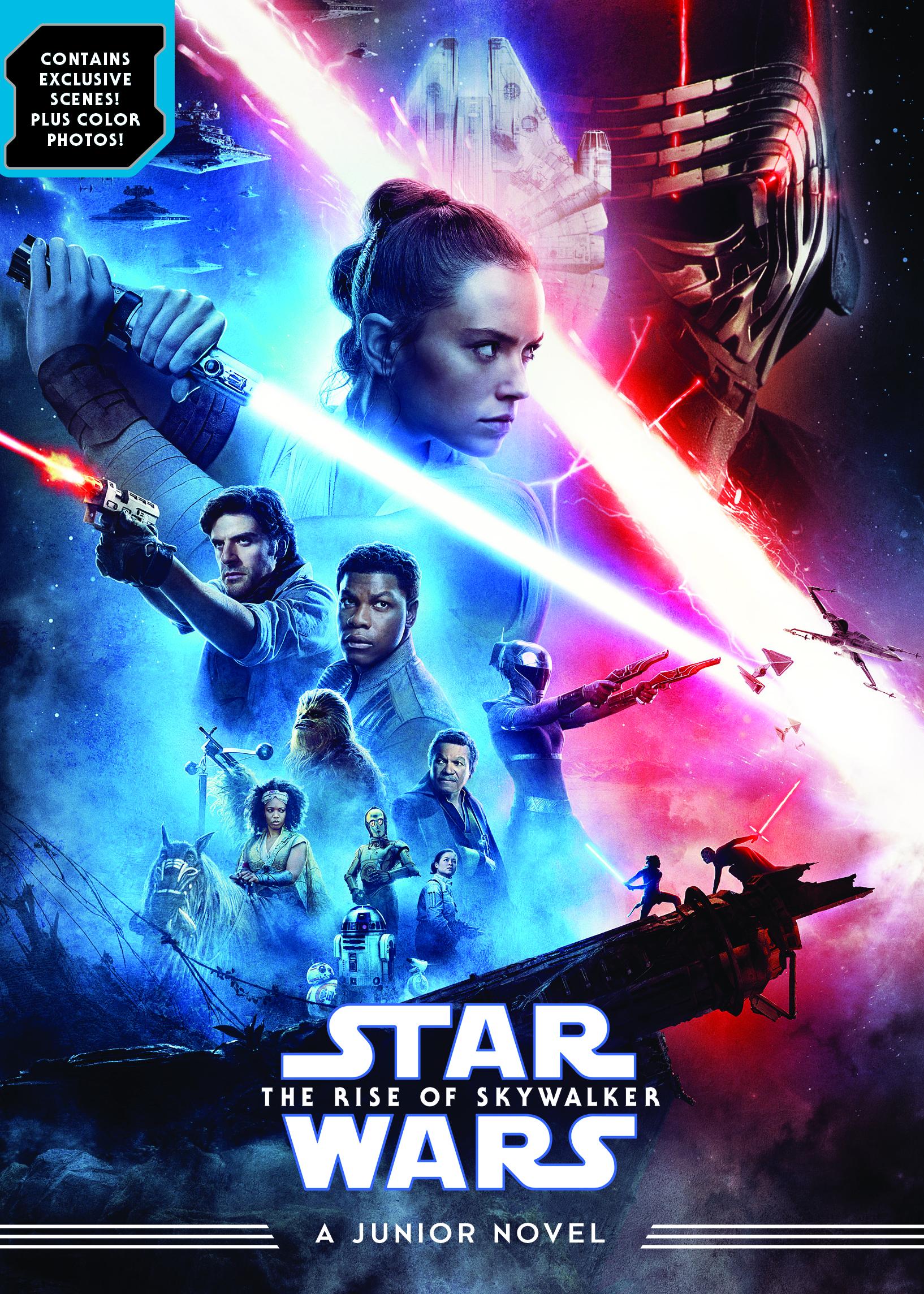 The Rise Of Skywalker Junior Novel Disney Books Disney Publishing Worldwide