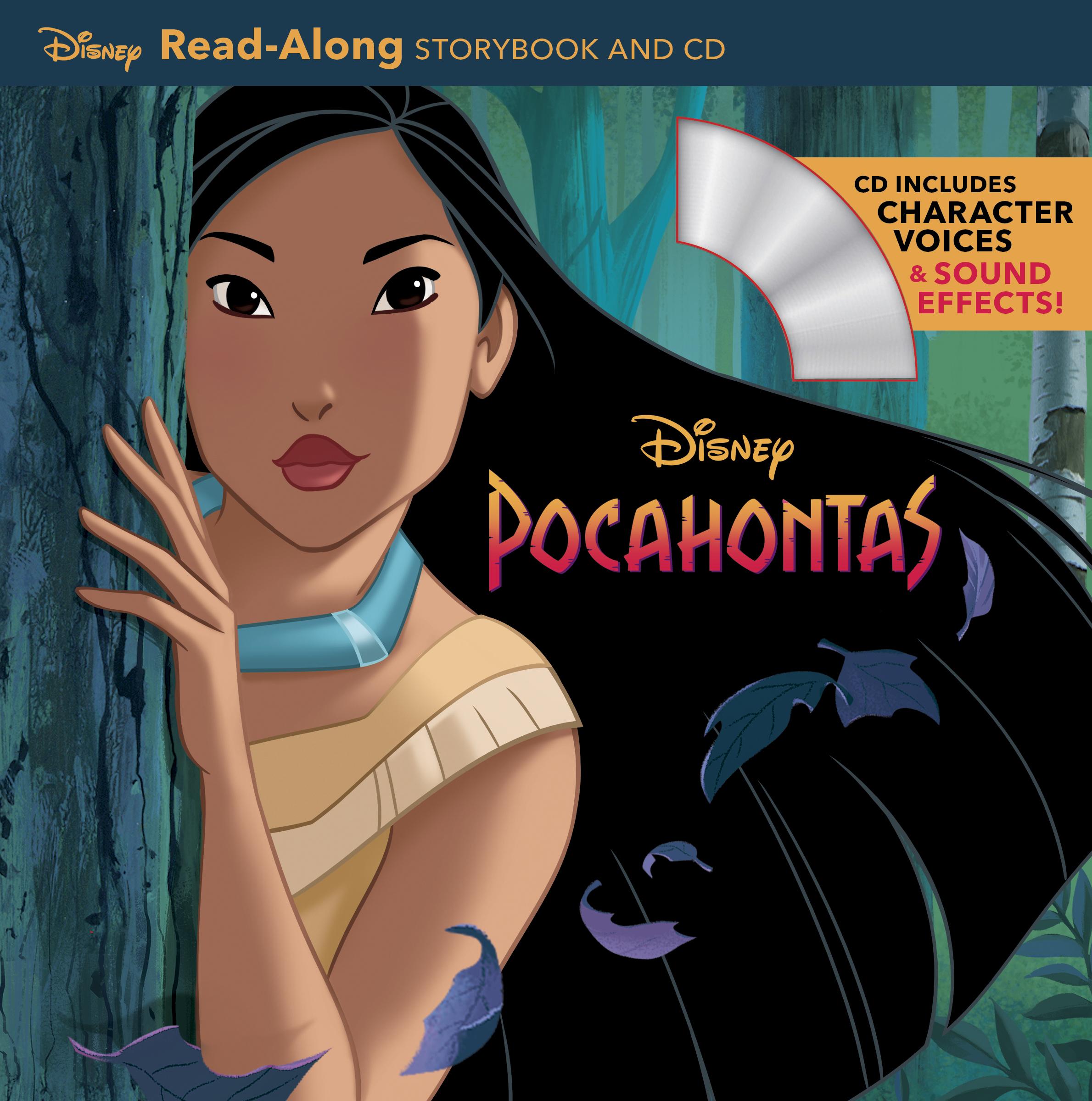 Pocahontas Read Along Storybook Cd Disney Books Disney Publishing Worldwide