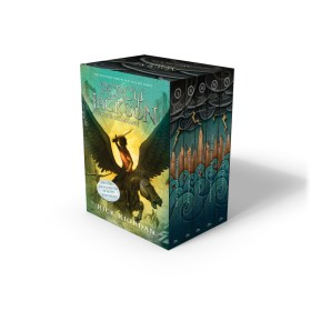 Percy Jackson and the Olympians Paperback Boxed Set