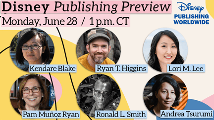 Graphic listing authors who are participating in webinar