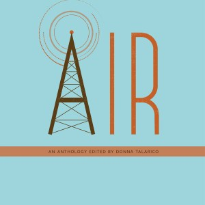 cover of air a radio anthology - the A looks like a radio tower