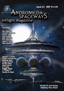 Cover of Andromeda Spaceways Inflight Magazine issue 63