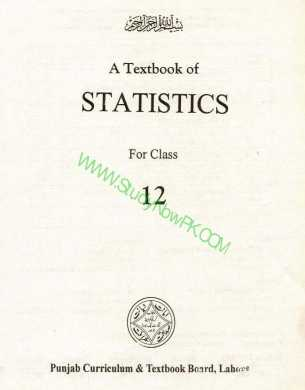 Download Inter Part 2 Statistics Book Pdf English Medium