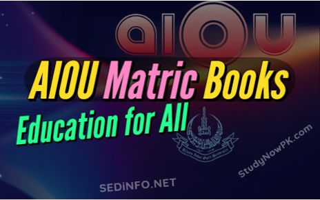 AIOU Matric Books