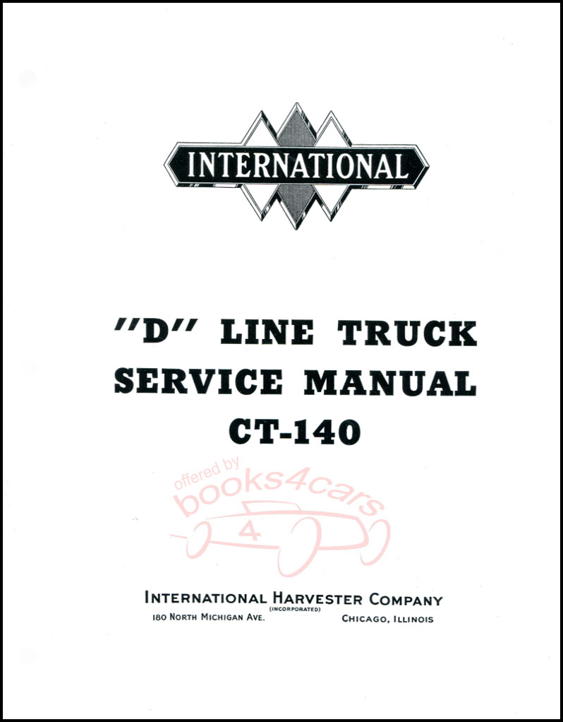 hight resolution of 37 40 d line shop service repair manual ct 140 by international 456 pages 38 ct140