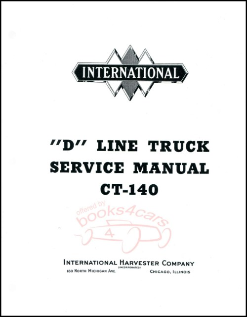 small resolution of 37 40 d line shop service repair manual ct 140 by international 456 pages 38 ct140
