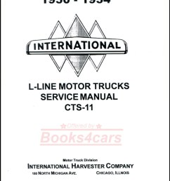 50 55 l line shop service repair manual by international truck includes r series supplement 52 1149  [ 784 x 1008 Pixel ]
