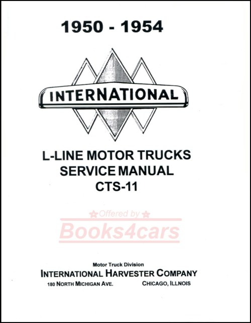 small resolution of 50 55 l line shop service repair manual by international truck includes r series supplement 52 1149