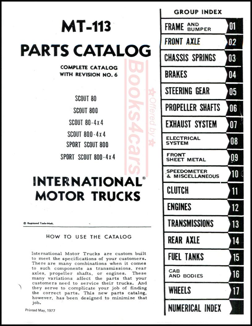 International Manuals at Books4Cars.com
