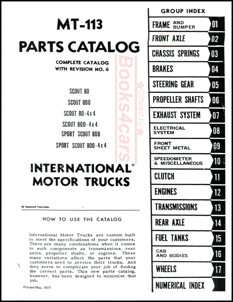 hight resolution of 62 69 mt 113 parts catalog manual for scout 80 scout 800 scout 80 4x4 scout 800 4x4 sport scout 800 sport scout 800 4x4 by international 65 9466