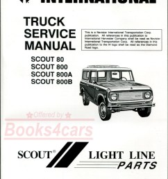 61 71 scout 80 800 800a and 800b shop service repair manual by international harvester 65 9469  [ 799 x 1029 Pixel ]