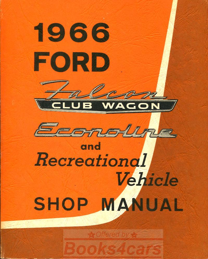 Van Motorhome Wiring Diagram Shop Service Repair Book Manual Ebay